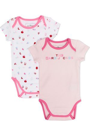 The Marc Jacobs Letter-print cotton body set