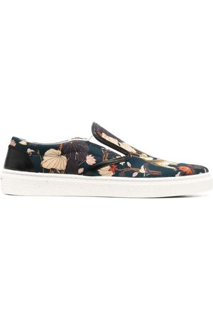 Etro Tiger slip-on sneakers