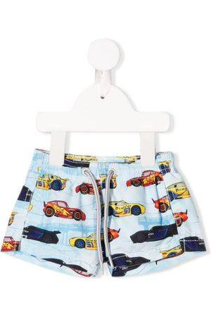 MC2 SAINT BARTH X Disney Race print shorts