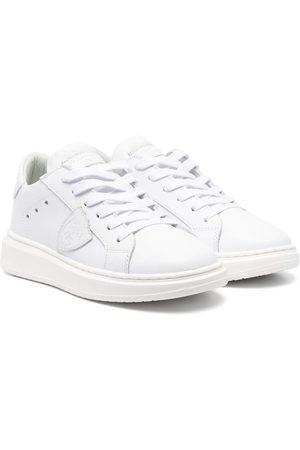 Philippe model Logo-patch low-top sneakers