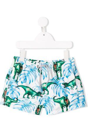 MC2 SAINT BARTH Dino print swim shorts
