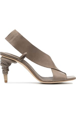 Officine creative Raimonde cross-strap leather sandals