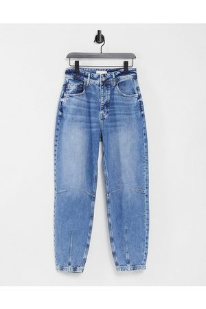 River Island Retro tapered jeans in mid auth