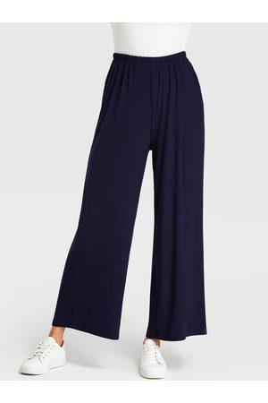 YOINS Elastic Waist Wide Leg Pants