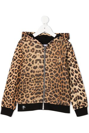 Philipp Plein Leopard-print hoodie