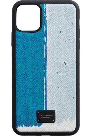 Dolce & Gabbana Snakeskin-effect panelled phone case