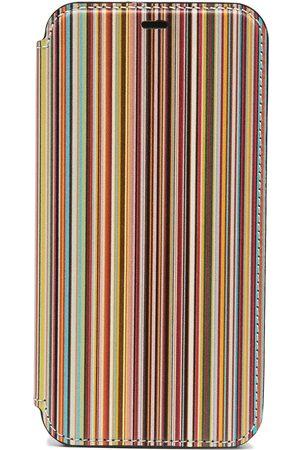 Paul Smith Men Phone Cases - Signature stripe iPhone 11 pro case