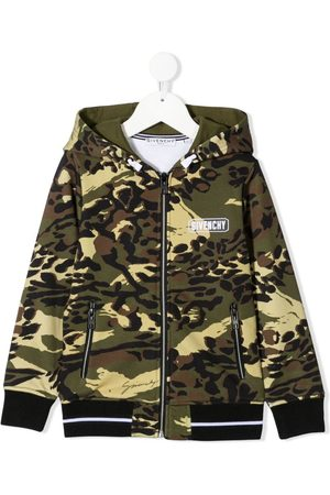 Givenchy Camouflage-print hoodie