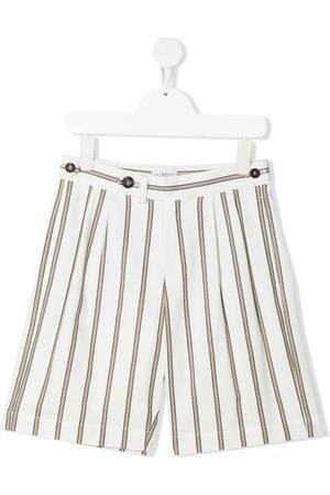 Brunello Cucinelli Striped straight-leg shorts