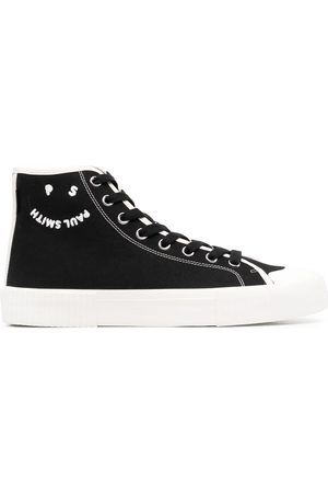 Paul Smith Logo-print hi-top sneakers