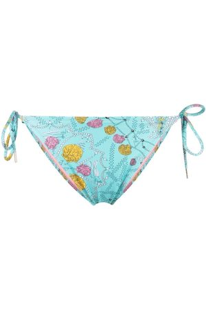 Emilio Pucci Shell-print bikini brief