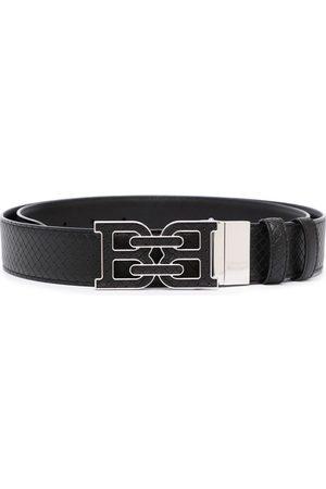 Bally Logo-buckle leather belt