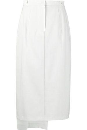 12 STOREEZ Asymmetric midi skirt