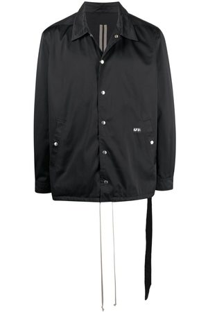Rick Owens Snap-button down jacket