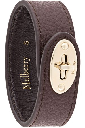 MULBERRY Bayswater turn-clasp leather bracelet