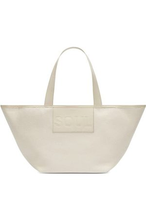 DeMellier Handbags - The Soul Leather & Organic Cotton Tote