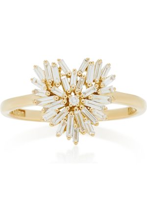 Suzanne Kalan Women's 18K Yellow- Heart Ring - - Moda Operandi
