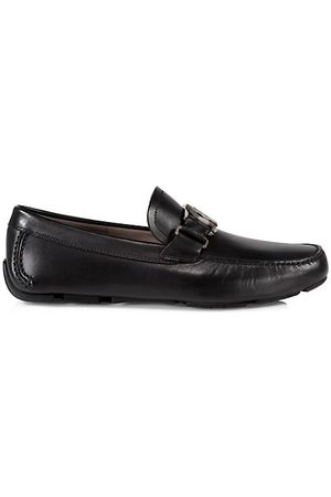 Salvatore Ferragamo Peter Leather Loafers