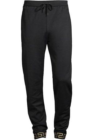 VERSACE Men Joggers - Technical Jersey Pants