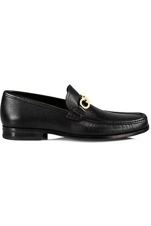 Salvatore Ferragamo Chris Leather Loafers