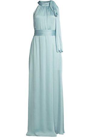 Sachin & Babi Women Party Dresses - Tatum Halter Tie-Neck Gown