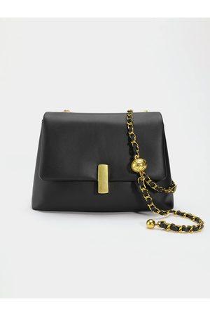 YOINS Magnetic Button Flap Chain Crossbody Bag