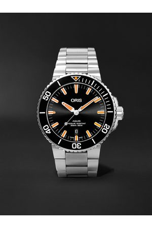 Oris Men Watches - Aquis Date Automatic 43.5mm Stainless Steel Watch, Ref. No. 01 733 7730 4159-07 8 24 05PEB