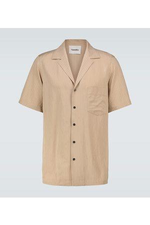 Nanushka Men Shirts - Venci striped shirt