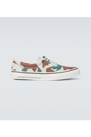 UNDERCOVER Men Sneakers - Camouflage canvas sneakers