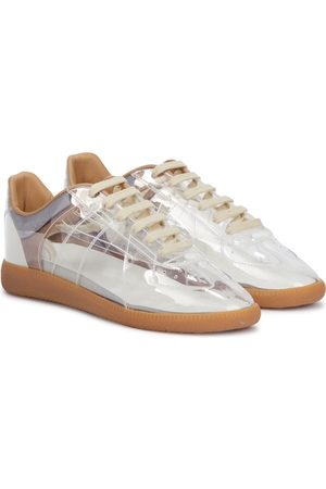 Maison Margiela Women Sneakers - Replica PVC and leather sneakers