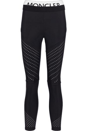 Moncler Stretch-jersey leggings