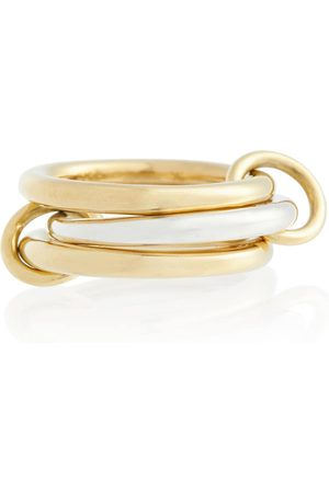 SPINELLI KILCOLLIN Women Rings - Taurus SG 18kt and sterling silver linked rings