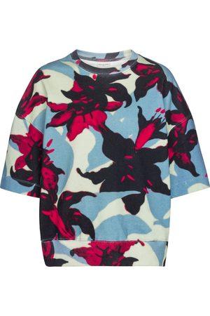 DRIES VAN NOTEN Women Sweatshirts - Floral cotton jersey sweatshirt