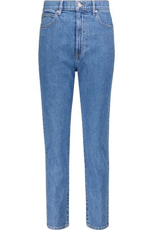 SLVRLAKE Beatnik high-rise cropped slim jeans