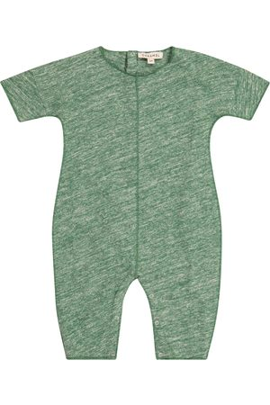 Caramel Rompers - Baby Sea Grass cotton onesie