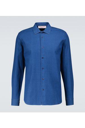 Orlebar Brown Giles classic collar shirt