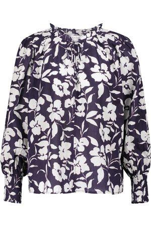 Velvet Women Blouses - Anissa floral cotton blouse