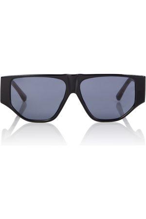 The Attico X Linda Farrow Ivan flat-brow sunglasses