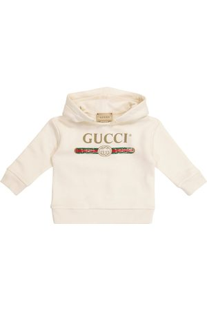 Gucci Baby logo cotton jersey hoodie