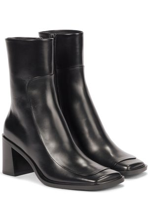 The Row Women Ankle Boots - Patch leather ankle boots