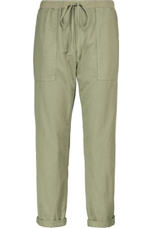 Velvet Misty cotton twill cargo pants