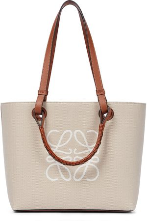 Loewe Anagram Small canvas tote