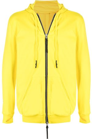 11 BY BORIS BIDJAN SABERI Z2B neck-warmer zip-up hoodie