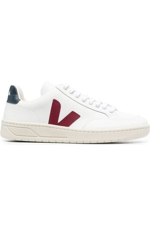 Veja V-12 leather low-top sneakers