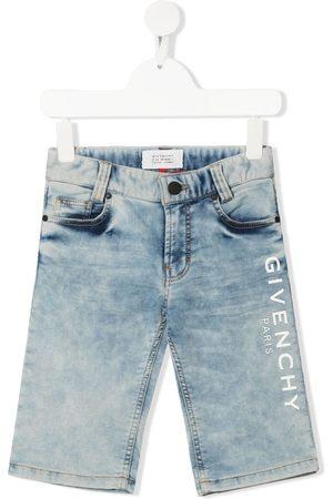 Givenchy Logo-print denim shorts