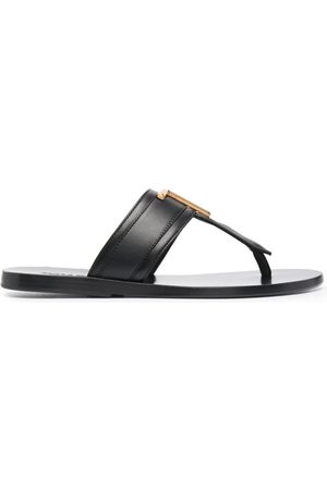 Tom Ford Logo-plaque open-toe sandals
