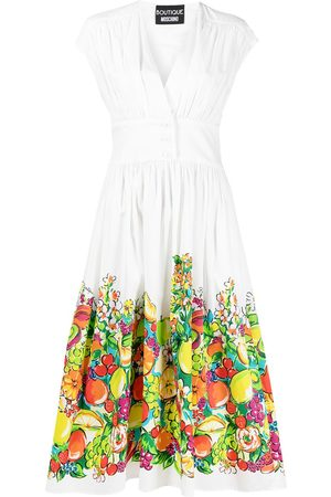 Moschino Fruit print midi sundress