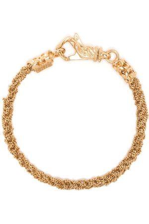EMANUELE BICOCCHI Slim braided bracelet