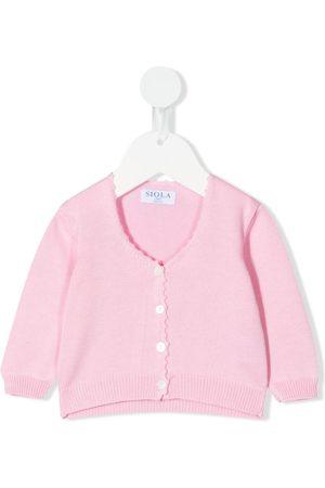 SIOLA Cotton-knit cardigan