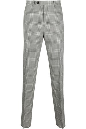 Vivienne Westwood Checked straight tailored trousers